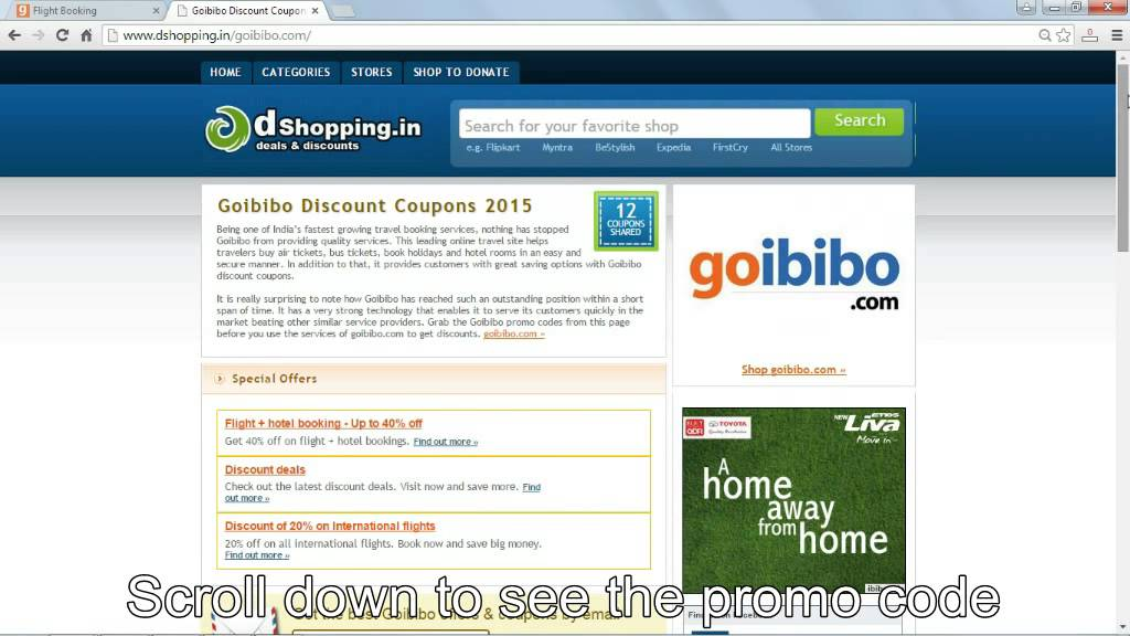 How to use promo code in goibibo youtube how to use promo code in goibibo fandeluxe Images