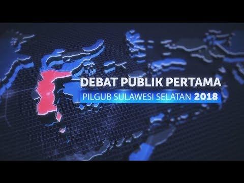 Debat Publik Pertama Pilgub Sulawesi Selatan