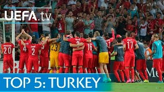 Top 5 Turkey EURO 2016 qualifying goals: Turan, Bulut and more