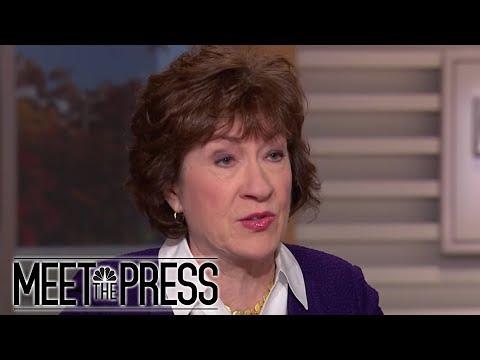 Sen. Susan Collins: Robert Mueller Is Making Progress' (Full) | Meet The Press | NBC News