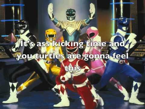 Epic Rap Battles TMNT VS Power Rangers