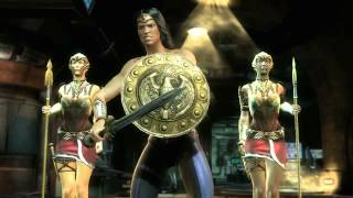 Injustice Gods Among Us TGS Trailer