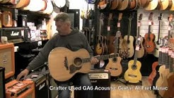Crafter Used GA6 Acoustic Guitar