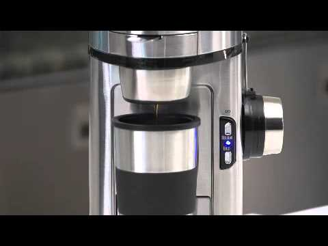 The Scoop Single-Serve Coffee Maker (49981) - YouTube