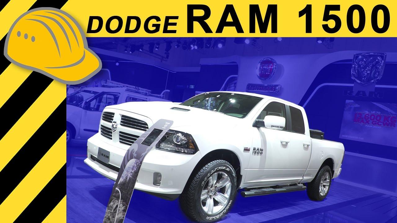 Dodge Ram 1500 5 7 V8 Hemi Pickup Truck Lpg Walkaround Iaa 2017 4k