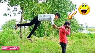 Must Watch New Funny Comedy Videos 2019 😂 😂 - Episode 66 - Indian Funny Vines || Bindas Boys
