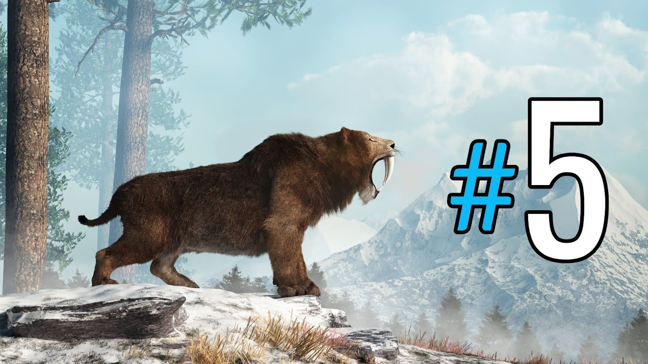 Top 5 Predators of The Pleistocene - Dead & Alive