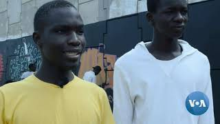 Senegalese Artists Take a Stand for Black Lives Matter Movement