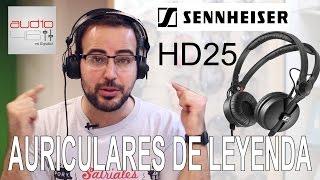 Sennheiser HD25. Auriculares de leyenda.