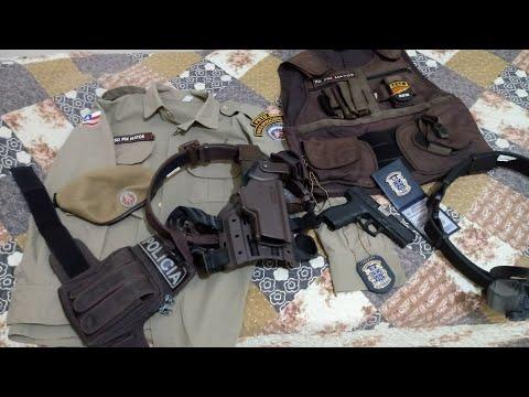 Material de trabalho PM x Polícia Civil
