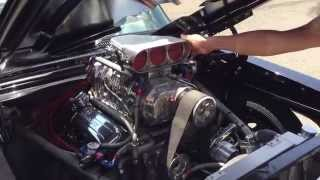 67 Blown Pro Street Chevy Nova SS