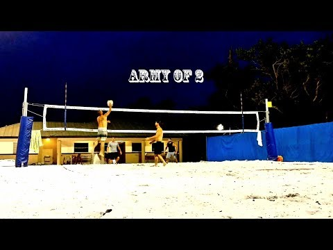 Army of 2 City of Fort Myers Beach Volleyball League 2's intermediate 5-16-18