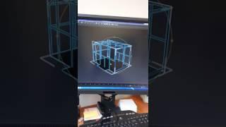 3D проэкт прицепа