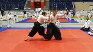 Aikido embu on first open eurasian youth combat games