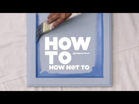 How-To Paint Cabinets Right | ADVANCE Paint by Benjamin Moore