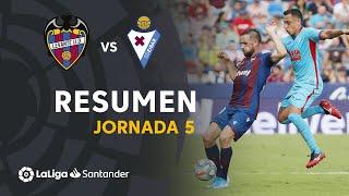 Resumen de Levante UD vs SD Eibar (0-0)