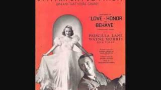 Guy Lombardo and His Royal Canadians - Bei Mir Bist Du Schoen (1938)