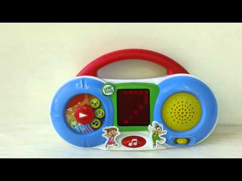 Leapfrog Fridge DJ Magnetic Learning Radio By Copter-Shop.pantown.com