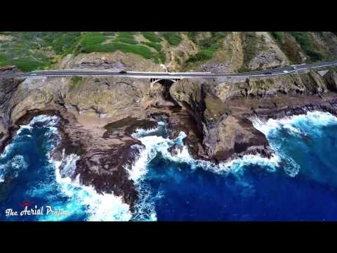 oahu,-hawaii-and-a-aerial-tour-of-some-hot-spots-on-the-island---2015---the-aerial-project