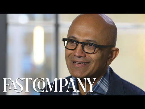Microsoft CEO Satya Nadella on the Importance of Teamwork and Empathy | Fast Company