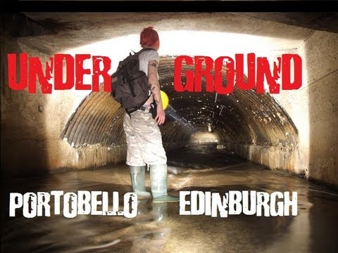 Underground Tunnel at Portobello, Edinburgh, Scotland