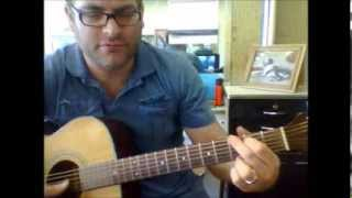 how to play g/b guitar chord (slash chord)
