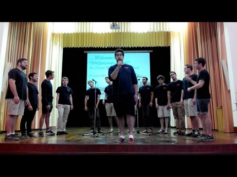 English Week 30 July 2014 / The Whiffenpoofs'Male Acapella Concert