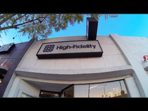 A Visit to the High Fidelity Record Store