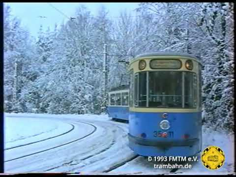 M-Wagen-Winter nach Grünwald