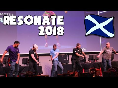 Resonate Glasgow 2018 || Fortnite Dancing Cringe!!