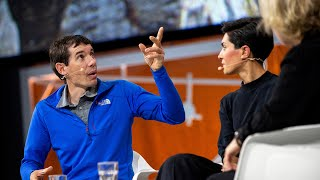 Alex Honnold discusses fear with psychology researcher Armita Golkar - Nobel Week Dialogue 2019