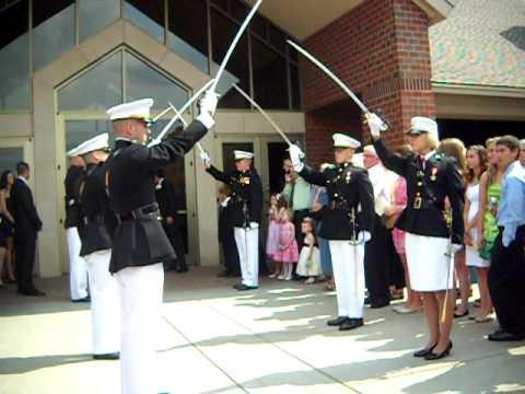 Marine Corp Sword Salute 9 3 2011.AVI