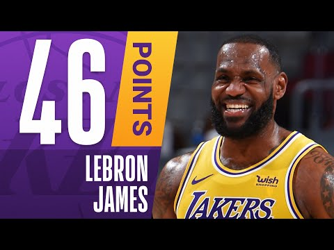 [Not HoH] 👑 SEASON-HIGH 46 PTS, 7 3PM For LeBron James Against Cleveland!