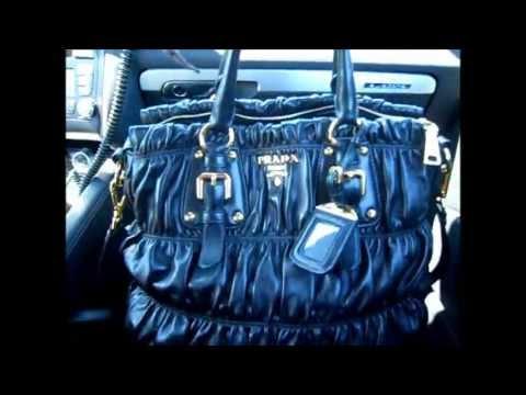 WHAT'S IN MY BAG ♥ PRADA TOTE REVIEW