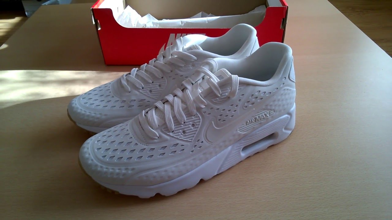 Unboxing butów/ shoes Nike Air Max 90 Ultra BR 725222-100