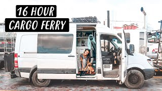 VAN LIFE VLOG | Overnight Cargo Ferry from Baja to Mexico