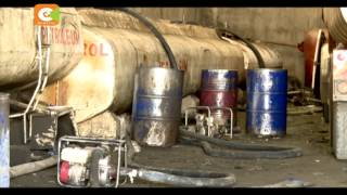 VIDEO: Police nab 500 litres of adulterated fuel in Nairobi