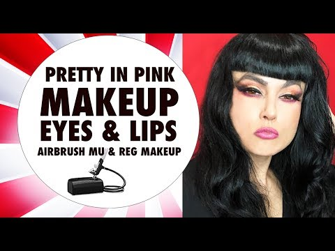 HOW TO CREATE PRETTY IN PINK EYES & LIPS | TECHNIQUE | AIRBRUSH | MUA | BEAUTY SLAY