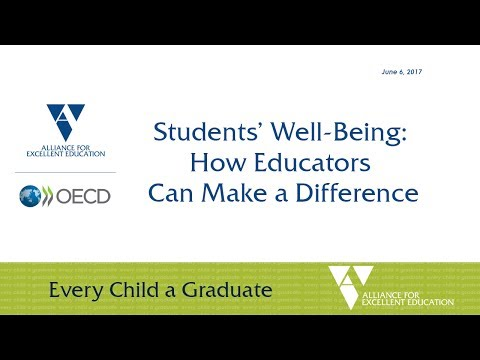 Students' Well-Being: How Educators Can Make a Difference