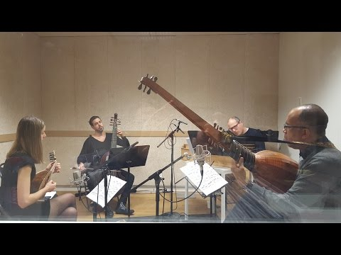 Pizzicar Galante - Bach recording session