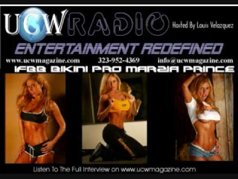 IFBB Bikini Pro and Gaspari Nutrition Spokes Model Marzia Prince