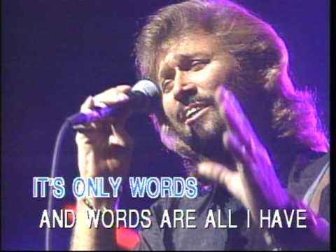 Bee Gees - words  (karaoke).mpg