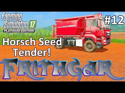 Let's Play FS17, Estancia Lapacho #12: Horsch Seed Tender!