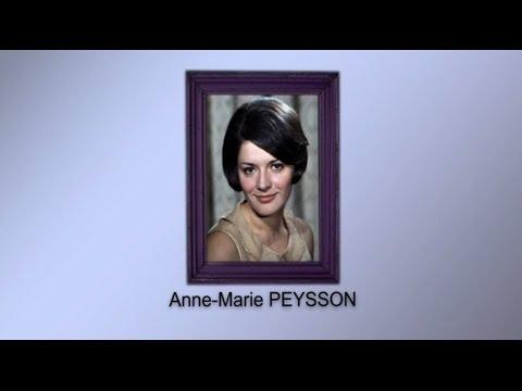 Hommage à Anne-Marie PEYSSON par Jean-Pierre PASQUALINI