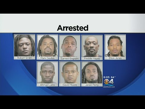 8 Arrested In Connection To Lauderhill Flakka Drug Ring