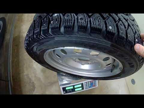 Лада Приора взвесил колёса что легче литье или штамп.