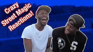 Crazy Street Magic Funny Reactions!