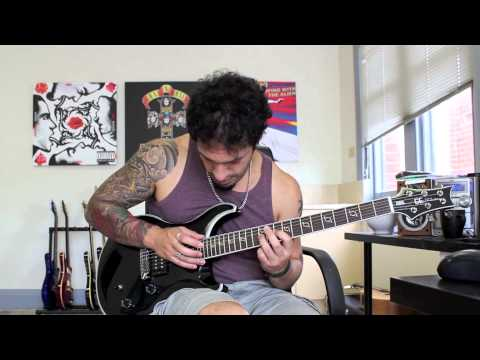 How to play 'In Due Time' by Killswitch Engage Guitar Solo Lesson w/tabs