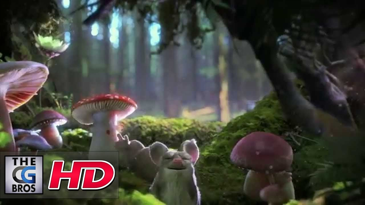 3d Broken Screen Wallpaper Cgi 3d Animated Spot Quot Enchanted Forest Quot Psyop Youtube