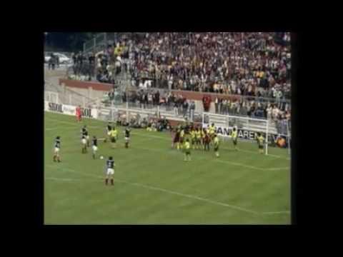 Punizione Zaire vs Scozia 1974